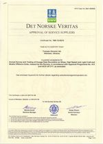 DET NORSKE VERITAS Approval of Service Supplaer